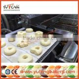 Automatic Gas Donut Maker with Chocolate Glazer and Sugaring Table