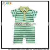 BKD high quality baby boys clothes polo boys rompers with brand