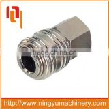 Auto-locking industrial milton type one touch quick coupling air fittings
