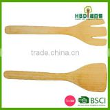 Good selling Eco-friendly kitchen bamboo spatula wooden spoon