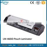 A3 A4 Office High Quality Photo Pouch Laminator with 460mm lamination Width Four Rollers Metal Structure