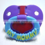 Silicone pacifier holder