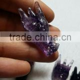 Wholesale variou hand carving,small for decoration,dragon head sculpture, Natural quartz crystal dragon skulls