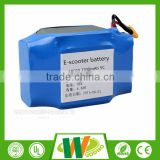 High safety 36v 4.4ah 158wh lithium battery segway battery