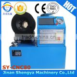 hot new products for 2015 thin body hose pipe hydraulic crimping machine/hydraulic pipe crimping machine