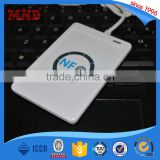 MDR7 hot sell ACR122U 13.56 Mhz USB interface rfid nfc card reader & writer with free SDK