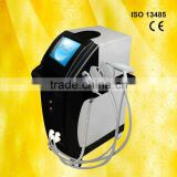 Speckle Removal 2013 Tattoo Equipment Beauty Products E-light+IPL+RF For Candle Wicking For Ears Wrinkle Removal