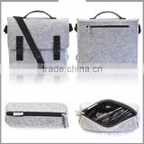 Fashion China factroy Promotional Felt laptop bags back pack