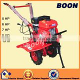 6.6 kw diesel engine mini power tiller cultivator