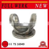 Super quality HANGZHOU China Drive shaft parts cardan steel forging flange yoke for industry