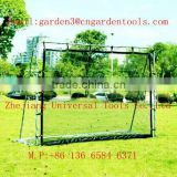 metal soccer rebound goal for junior training