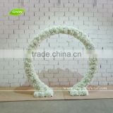 GNW FLW080 Wedding flower stand decoration in Silk Rose and Hydrangea Arch Wholesale Artifical flower wall