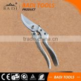8 inch Hot sale alumin handle curved blade garden hand pruning shears