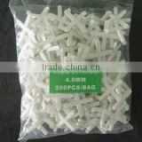 Adhesive plastic various sizes tile cross spacer with low price,Plastic Tile Spacer