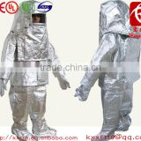 Heat resistant fire defense dress suit with Scba bags(Proof 1000 Degrees Celsius)