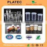 China made empty cans,plastic bottles,plastic easy open can,PET easy open can for dry food, nuts,candies, plastic jar