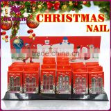 New style red Christmas professional artificial nails