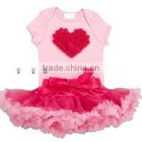 Sweet Pettiskirt sets Bubble Gum Pink Tutu Love Set