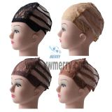 Stretch Elastic Mesh Lace Wig Caps For Making Wigs Adjustable Wig Making Caps Invisible Hair Nets