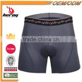 BEROY Fitness 3D Gel Padded Cycling Biking Racing Underwear, Wholesale Cycling Tight Shorts