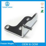 Lower hinge for refrigerator doors