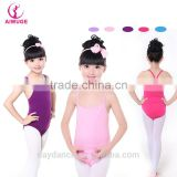 2016 OEM Children Kids Single/Double X-Back Ballet Sexy Dance Gymnastic Leotard For Girls