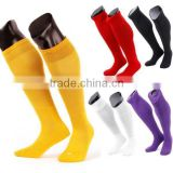 men pure color long over knee football basketball athletic soccer sport socks
