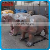 Artificial High Simulation Fiberglass Animals For Theme Park
