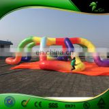 New Design inflatable trade show tent,giant inflatable tents with custom design