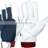 Cowhide suede Leather Gloves 707 working gloves/cow split leather gloves/pig split leather gloves