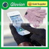 2014 Wool Capacitive gloves touch screen high-tech touchscreen gloves for smartphone table ipad