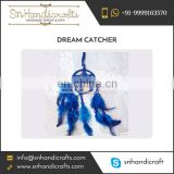 Alluring Design Blue Colour Feather made Dream Catcher for Sale