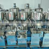 Semi-auto Pneumatic vertical Cosmetics filling machine