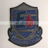 New design letters glass bead iron/sew on patch chenille patches