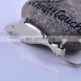 Funny great white keychain ring custom shark beer bottle opener