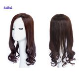 FAST shipping human hair wig 150%density body wave vrigin hair lace frontal wig