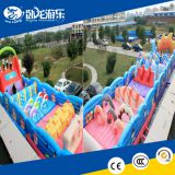 Kids inflatable playground, inflatable combo, inflatable obstacle course
