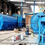How to set up a waste tyre pyrolysis to oil plant?