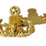 Kuwait Military Police Hat Badges
