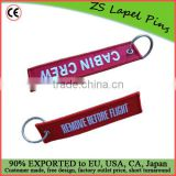 Custom Embroidery Key Tags/ Embroidery Key Chains