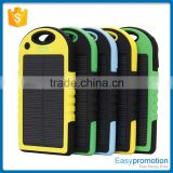 4000mah dual usb portable solar panel power bank wholesale                                                                         Quality Choice