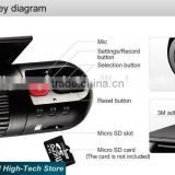 Wholesale HD Mini Car DVR Digital Video Recorder HD 720P Dash Cam G-sensor Motion Detection HD DVR Recorder