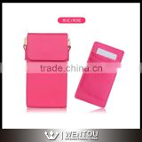Wholesale Leather Phone Crossbody Pouch