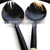 High quality best selling natural carved buffalo horn spoon from vietnam