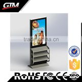 55 inch advertising touch screens led digital photo frame lcd video exhibition stand tv wifi 3g ad monitor