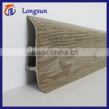 Skirting board for laminated/vinyl/bamboo/wooden/pvc floor