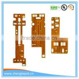 Cover Gold,OSP Flexible PCB PI Stiffener Film Board 1mil Min. Line Printed Circuit Board