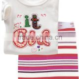 2014 Hot Sale Cute Children Pajamas Cotton Pajamas
