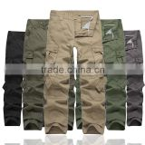 Cargo Pants Menschwear Military Multi Pocket Trousers Stock Ready Apparel