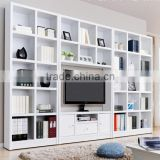 High quality wood wall mounted tv showcase designs/ tv cabinet (SZ-FCB358)